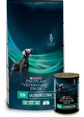 Сухой корм PPVD EN для щенков и взр. собак при расстройствах пищеварения, 1,5 кг