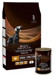 Сухой корм PPVD NF для взрослых собак при патологии почек, 3 кг