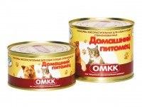 Консерва В НАЛИЧИИ Домашний питомец для кошек, 325г
