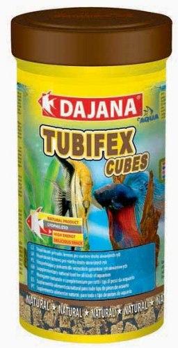Корм В НАЛИЧИИ Dajana Tubifex Cubes, в виде кубиков, 250мл