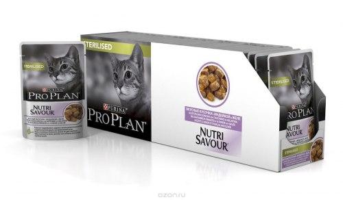 Консерва Pro Plan для стерилизованных кошек, 85 г (банка)