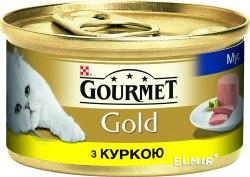 Консерва В НАЛИЧИИ Gourmet Gold с курицей, 85