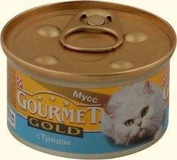 Консерва В НАЛИЧИИ Gourmet Gold с тунцом, 85г