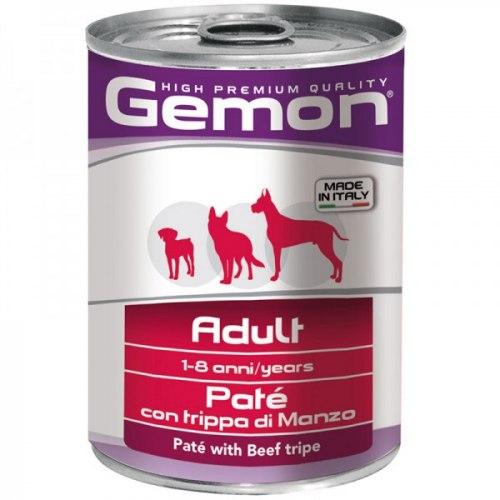 Консерва В НАЛИЧИИ Gemon паштет для собак, говяжий рубец, 400г