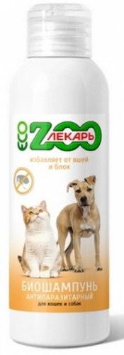 Био шампунь В НАЛИЧИИ ЭкоЗоолекарь антипаразитарный для кошек и собак, 200мл