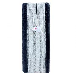 Когтеточка В НАЛИЧИИ Triol из сизаля Доска с мышкой, 370*140*15мм