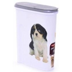 Контейнер для корма Домашние любимцы Собака 1,5 кг(4,5л), 25*10*30см