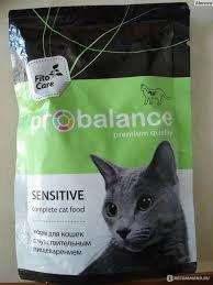 Консерва В НАЛИЧИИ ProBalance Sensitive для кошек с чувств.пищеварением, 85г