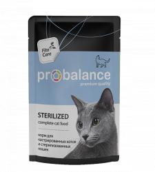 Консерва В НАЛИЧИИ ProBalance для стерилизованных кошек,85г