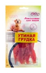 Лакомство В НАЛИЧИИ O'dog утиная грудка, 55г
