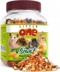Овощная смесь Little one для всех грызунов, банка 150г