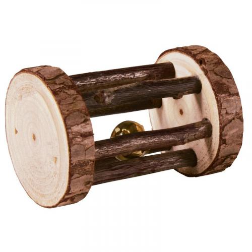 Игрушка В НАЛИЧИИ TRIXIE для грызунов с колокольчиком, 5*7 см, нат.дерево