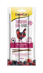 Лакомые палочки В НАЛИЧИИ GIMCAT для кошек курица и лесные ягоды, 1 шт