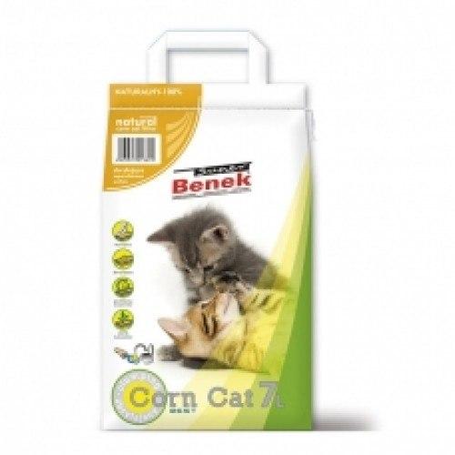 Наполнитель S.Benek Corn Cat кукурузный комкующийся 25л