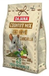 Корм В НАЛИЧИИ Dajana country mix Chinchilla для шиншилл, 500г