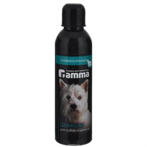 Шампунь В НАЛИЧИИ Gamma для собак и щенков универсальный, 250мл