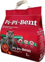 Наполнитель В НАЛИЧИИ PiPiBent для котят, комкующийся, 5 кг
