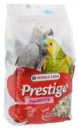 Корм Prestige Parrots, для крупных попугаев, 1 кг