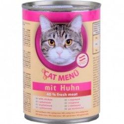 Консерва В НАЛИЧИИ Cat Menu с курицей в соусе, 415г