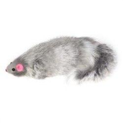 Игрушка В НАЛИЧИИ Triol мышь серая с пищалкой 70-75мм