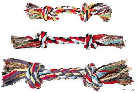 Игрушка В НАЛИЧИИ TRIXIE в виде веревки с двумя узлами, хлопковая 300г/37см