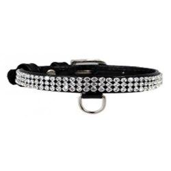 Ошейник В НАЛИЧИИ Collar Brilliance с украшение полотно стразы, ширина 9мм, длина 19-25см