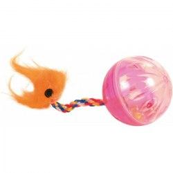 Игрушка В НАЛИЧИИ TRIXIE шарики трещащие с фигуркой, диам.4см - 1 шт