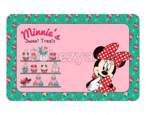 Коврик В НАЛИЧИИ Triоl-Disney под миску Minnie&Treats, 430*280 мм