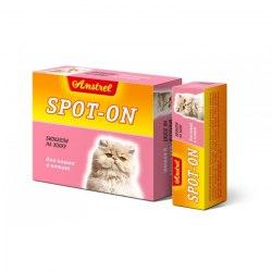 Биокапли В НАЛИЧИИ Amstrel Spot-on антипаразитарные для кошек и котят 1 флакон/1мл