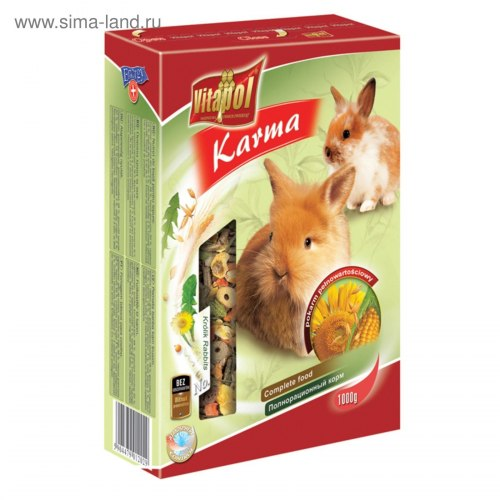 Корм В НАЛИЧИИ Vitaporol для кроликов, 400г