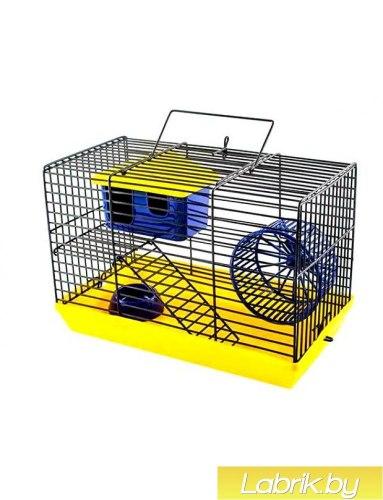Клетка-мини В НАЛИЧИИ eco для грызунов, 2 этажа (25*14*25см)