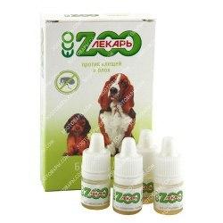 Биокапли ЭкоЗоолекарь для собак, 1 шт