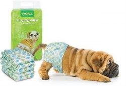 Подгузник В НАЛИЧИИ Triol S, вес собаки 4-7 кг, 1шт