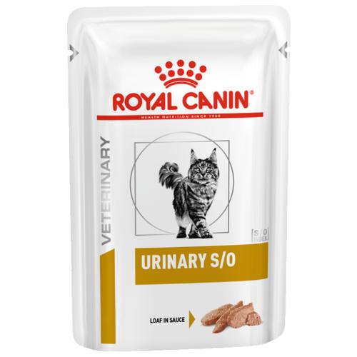 Консерва Royal Canin Urinary S/O feline chicken loaf, 85г/1шт