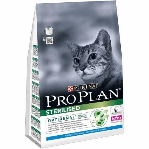 Сухой корм НА РАЗВЕС Pro Plan для стерилизованных кошек с кроликом, 1 кг