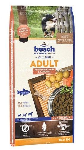 Сухой корм НА РАЗВЕС Bosch для взрослых собак лосось с картофелем, 1 кг