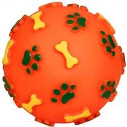 Игрушка В НАЛИЧИИ Triol мяч с лапками и косточками, D80мм