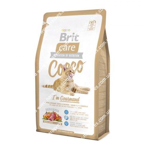 Сухой корм НА РАЗВЕС Брит Care Cat Cocco Gourmand 1 кг