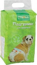 Подгузник В НАЛИЧИИ Triol для собак М, 7-15 кг, 1 шт