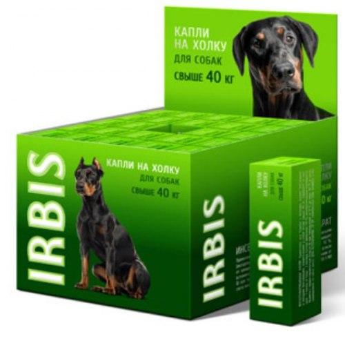 Биокапли Ирбис Фортэ для собак средних и крупных пород, 1шт/5мл