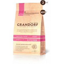 Сухой корм В НАЛИЧИИ Grandorf CAT Lamb&Rice KITTEN 0,4 кг.