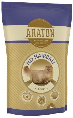Сухой корм НА РАЗВЕС Araton вывод шерсти, курица и говядина, 1 кг