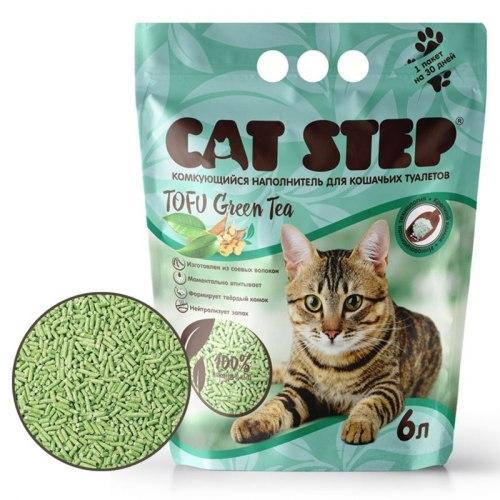 Наполнитель Cat Step Green Tea 6л