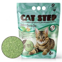 Наполнитель В НАЛИЧИИ Cat Step Green Tea 6л