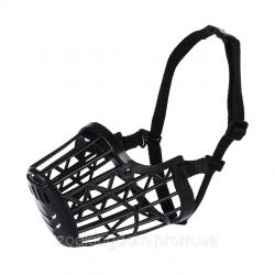 Намордник TRIXIE пластиковый с нейлоновым ремешком XL, 35см