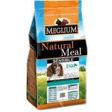 Сухой корм В НАЛИЧИИ MEGLIUM Sensible Fish & Rice 15кг