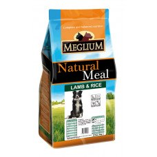 Сухой корм В НАЛИЧИИ MEGLIUM Sensible Lamb & Rice 15 кг
