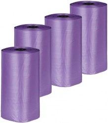 Одноразовые пакеты В НАЛИЧИИ TRIXIE для уборки за собаками с ароматом лаванды, 4 рулона по 20шт