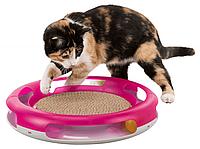 Когтеточка В НАЛИЧИИ TRIXIE для кошек с игрушкой, пластик/картон, д.37см