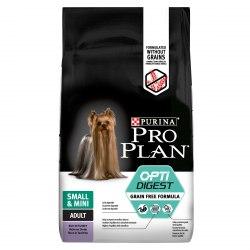 Сухой корм В НАЛИЧИИ Pro Plan Grain Free для мелких и карликовых пород с индейкой, 2.5 кг